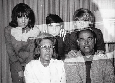 Gayle and Warren 'Mike Humma, with their children, Karen, Jimmy and Judy, Dec. 1965.