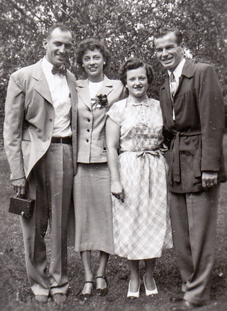 Walter & Verna with his brother and wife.