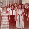 The Humma family: Robert Humma, Stella (Wien) and Henry Humma, Ruth (Humma) Fisher, Ronald Humma, Verna (Humma) Johnston, Raymond Humma, and Ann (Humma) Huber, at Ronald and Marian's wedding, Aug 16, 1952.