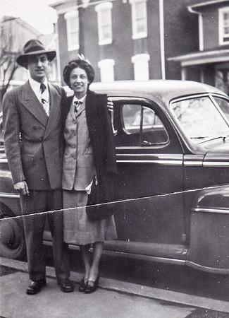 Walter & Verna Johnston, March, 1949.