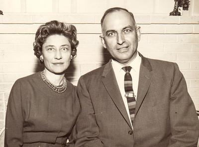 Verna (Humma) & Walter Johnston, 1964.