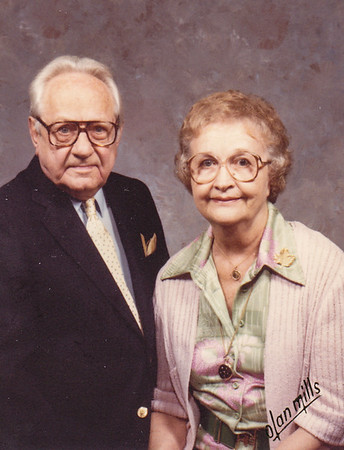 Stanley and Sarah Wien, 1982.