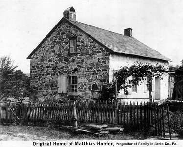Original Home of Matthias Hoefer, profenitor of Family in Berks Co., PA. (see: http://hafergary.com/leather_new_002.htm)