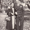 Peggy Naftzinger's maternal grandmother Sarah Snyder, with 'Uncle Bud' - Charles Snyder, in the Poconos