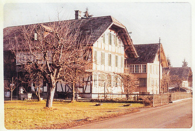Naftzger Homestead - in family for over 400 years at Wetendorf Switzerland Baghad(?) home of Matheip(?) Nafzger(?) Sr.
