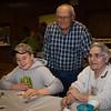John and Edna (Stricker) Schrack, with grandson Lucas DeTurk.