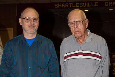 Steven with his father Wayne Schrack. (Wayne is son of Wayne & Vera (Naftzinger) Schrack).