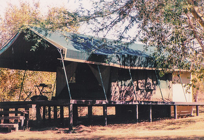 Africa trip - May 2005 - the tent we slept in.