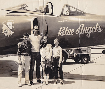Ben (left) with friends, around 13 years of age, (approx. 1959), at Lakehurst Naval Base, NJ.