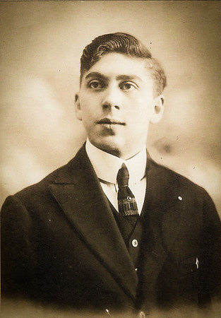 Pat's paternal grandfather, August Eckerdt, 21 years old.