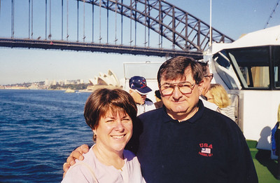 Australia 1999 - note Sydney Opera House in background.