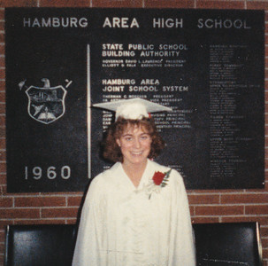 Pam's senior year - June 1989.