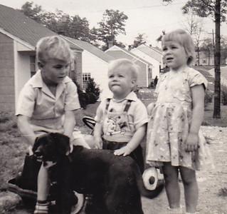 John, Gary and Pat. Summer of 1951.
