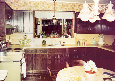 Pittstown house; After remodeling the kitchen.