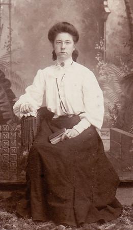 Arabella (Faust) Reinsel (Kattie's sister).