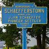 John Schaeffer founded New Schaefferstown; John is the maternal grand-father of John Adam Schrack