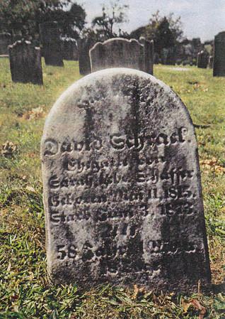 David Schrack tombstonein Altalaha Cemetery, Rehersburg, PA. David born 11 May 1815, died Jan 1873. Husband of Sarah Schaeffer Schrack.