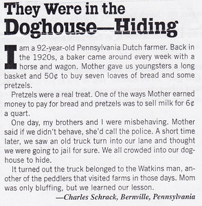 They Were in the Doghouse - Hiding (by Charles Schrack).