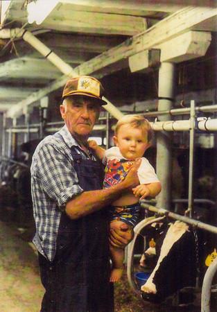 PaPa (Charles) & grandson Ethan, July 24, 1998.