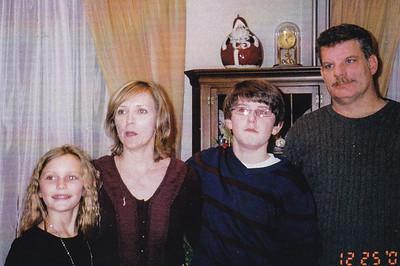 Lauren, Carlyn, Ethan & Philip Krall, Dec 25, 2009.