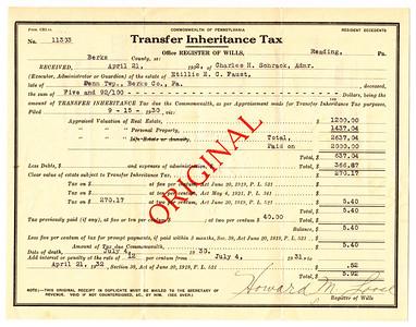 Transfer of Inheritance Tax