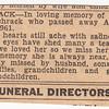 Katie L. Schrack passed away Aug 25, 1961...