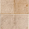 """Letter to """"Brother Charles"""", dated Dec 27, 1900. (top page 4 & 1, bottom page 3 & 2)   From???"""
