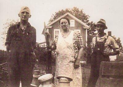 Charles H. Schrack, Katie, Charles Schrack Jr.