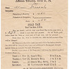 Tax notice for 1914; Adam Schrack owed $2.70. (Tax collection locations: Haag's Mill, Berger's Mill, Krick's Mill Hotel and Tulpehocken House).