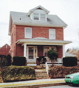John and Florence's house, where Margo grew up, located on 102 Summit Ave., Shillington, PA.