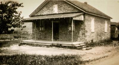 Keim's School, 1923; The first school where John taught.