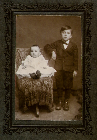 John and Roy Schrack, 1911.