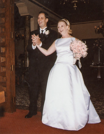 Kate and Chris Saunders, 2002