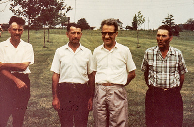 The Schrack brothers: Charles, Wayne, John and Roy.