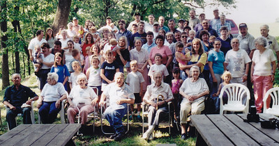 Schrack picnic, 2001 or 2002.