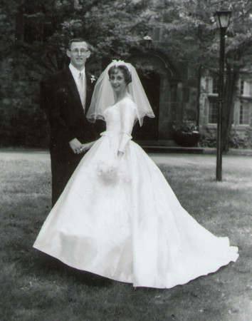 Phil and Mary Margaret (Schrack) Langley, 1960.