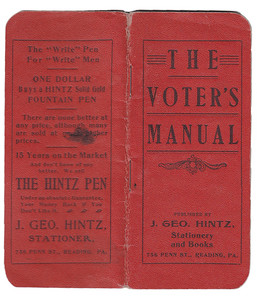 The Voters Manual 1901-2
