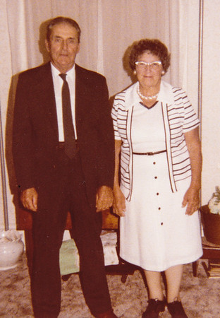 Roy and Mae (Troutman) Schrack, 1979-80.