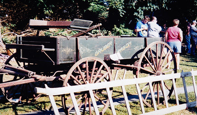 Roy Schrack's Gruber Wagon, at the 2005 public sale.