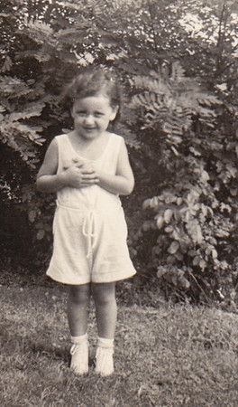Mary Bender, 4 years old, 1939.