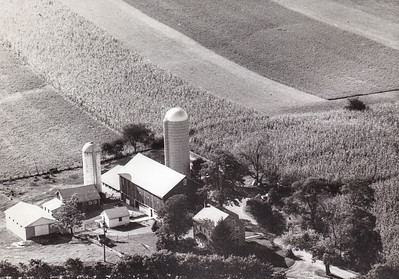 Roy and Mae's farm, where they lived from 1939 until they retired.