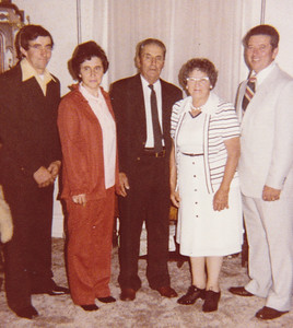 David, Mary, Roy, Mae and Bob, 1979-80.