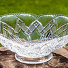 This crystal bowl belonged to Katie (Faust) Schrack. Wayne Sr. picked it when he and his brothers were going through their parents belongings. He and Vera gave it as a Christmas gift to one of their children.