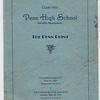 Wayne Schrack's class book when he was a junior in high school.
