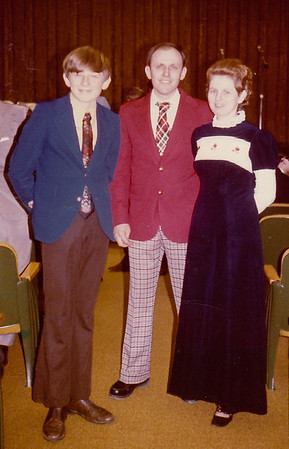 John and Marie (Schrack) Hill with their oldest son Bart W. Hill. (Mid-1970's) Grantville, PA.