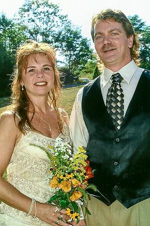 Karen Schrack and John Doherty, wedding. Sep. 10, 2005