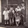 Children of Wayne and Vera (Naftzinger) Schrack, from left: Daniel, John Anna holding Norman and Wayne Jr.
