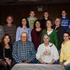L-R:<br /> Front: Karen (Schrack) Doherty, John Schrack, Edna (Stricker) Schrack, Yvonne (Stricker) Emerich.<br /> Middle: John Doherty, Kevin Schrack, Denise (Schrack) DeTurk, Gwendolyn Schrack, Stacy (Emerich) Ryan, Patrick, Ryan, and Barry Emerich.<br /> Back: Lucas DeTurk, Jayven Sechler, Emilee Kachel.