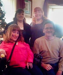 Back L-R: Jeri, Victoria Front L-R: Elizabeth, Curtis Schrack