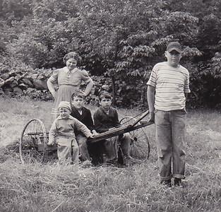 Marian Werner (later Humma), Ronny Zuber, Jimmy Gerhart, David Gerhart.